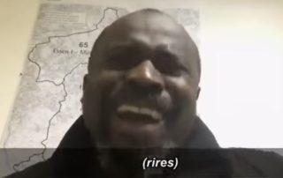 Egy afrikai bevándorló Németországról.