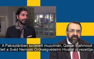 A svéd örökségvédelmi hivatal vezetője egy pakisztáni muszlim