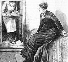 Ann Lohman abortőr börtöncellájában 1878-ban