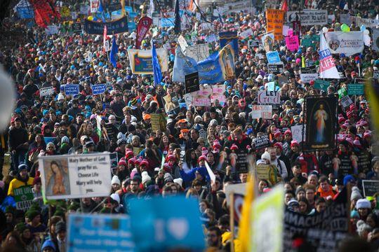 Hatalmas tömeg a March for Life felvonuláson